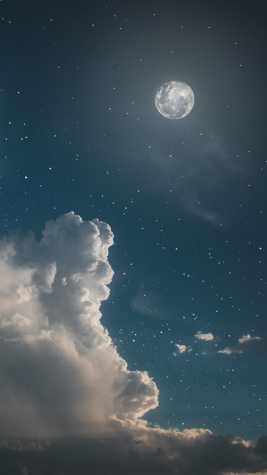Night sky aesthetic wallpaper