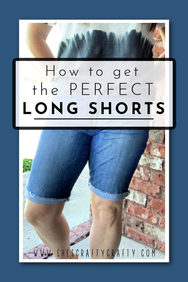 How to get the Perfect Long Shorts Pinterest Pin.