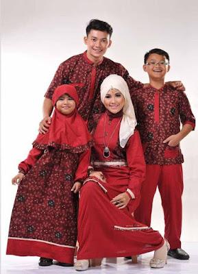 Baju Muslim Sekeluarga Couple