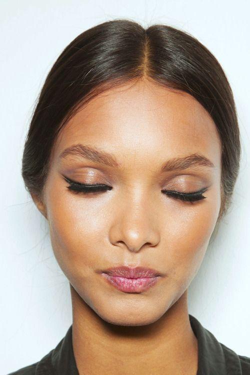 #make #maquiagem #pelebronzeada #contorno #verão #blush #makeup #summer #contorn
