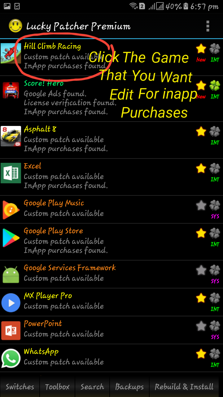 apk and more mod app: hill climb racing android 1