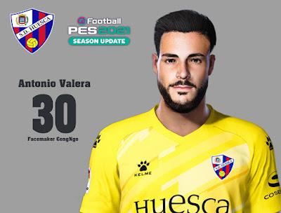 PES 2021 Faces Antonio Valera by CongNgo