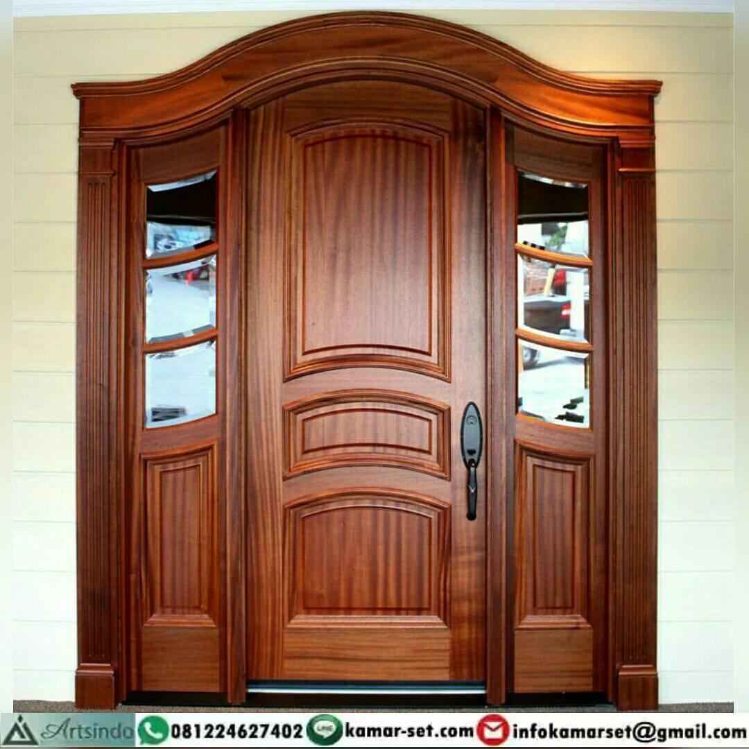 Desain 1 Pintu Depan Rumah Minimalis | Model Pintu Rumah ...