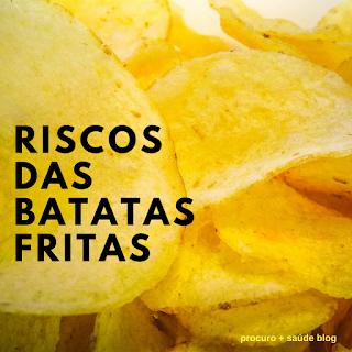 Batatas fritas associadas a maior risco de morte