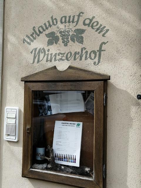 Urlaub auf dem Winzerhof