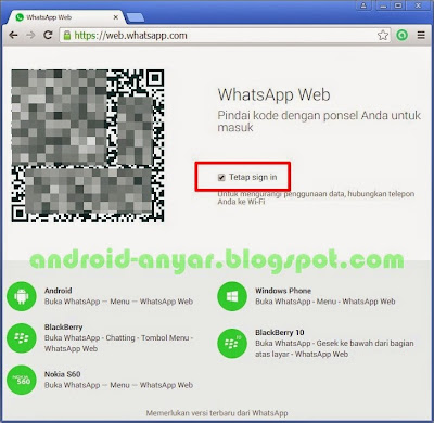 WhatsApp Web di Komputer, netbook, notebook, laptop