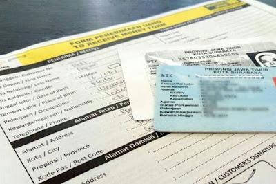 Contoh Form Pengambilan Uang di Western Union