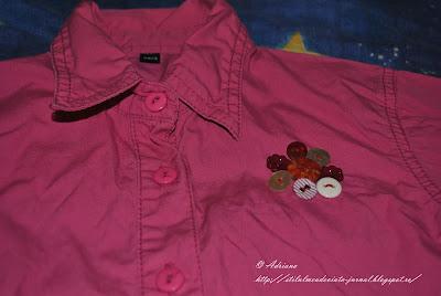 camasa accesorizata cu nasturi