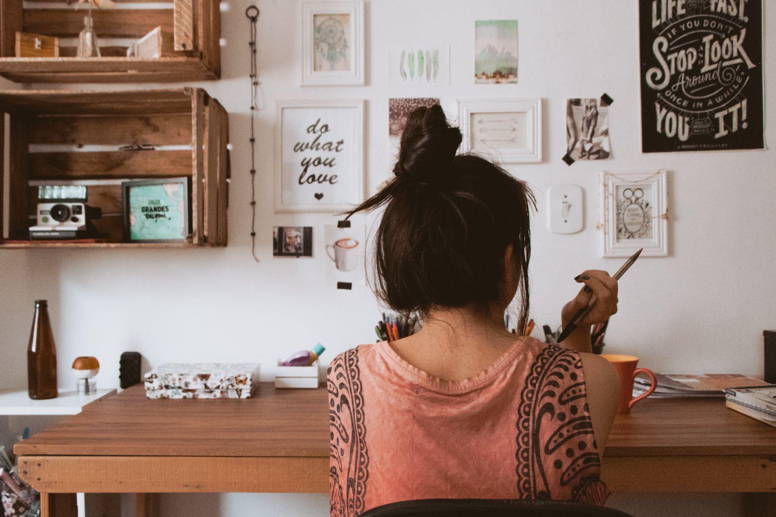 últimos dias do ano + presentinhos escrivaninha quarto