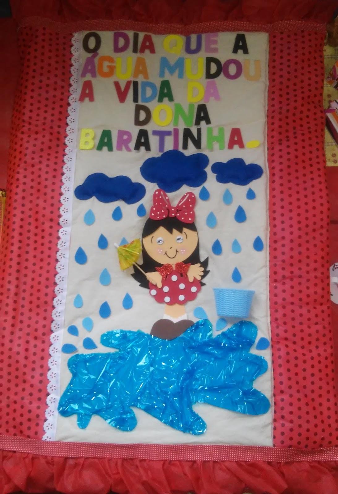 Extremamente Profª: Ivani Ferreira: Projeto Água : História da Dona Baratinha  XJ69