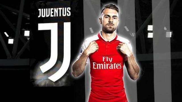 Gelandang Aaron Ramsey Sudah Setuju Pindah Ke Juventus