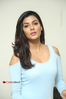 Anisha Ambrose Latest Pos Skirt at Fashion Designer Son of Ladies Tailor Movie Interview .COM 0648.JPG