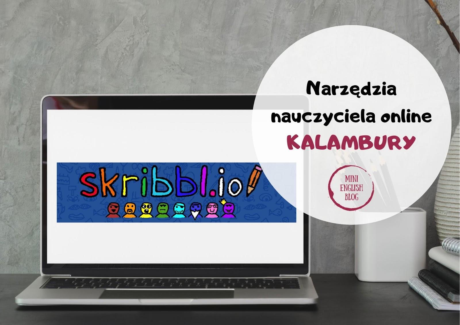Narzędzia nauczyciela online. Kalambury ze Skribbl.io