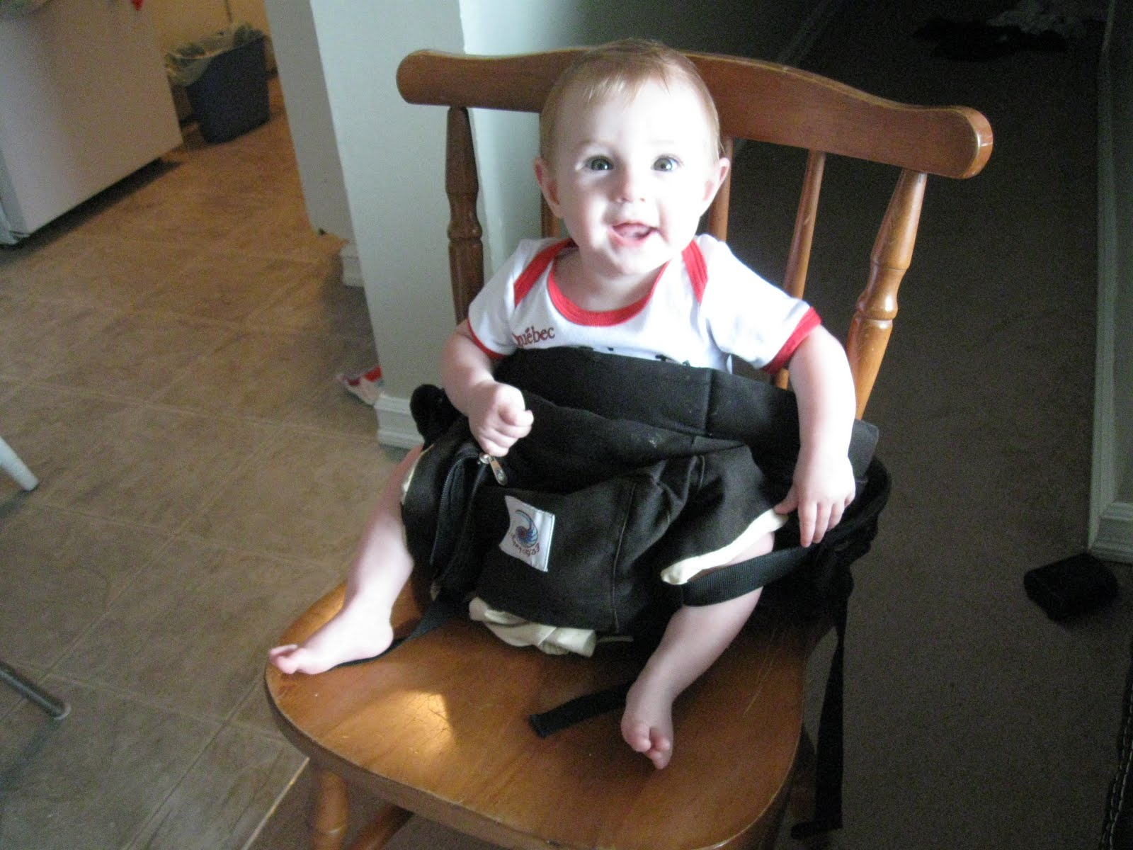 baby chair carrier white slipper a moving tale how to hack your ergo into an impromptu high