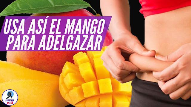2 Batidos Saludables a Base de Mango para Adelgazar