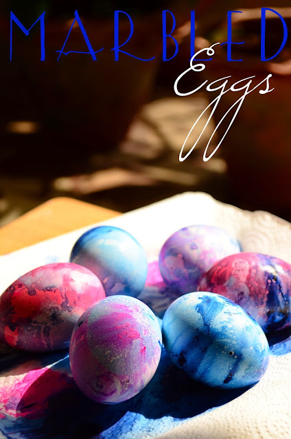 The Practical Mom: Easter Activity: Marbled Eggs