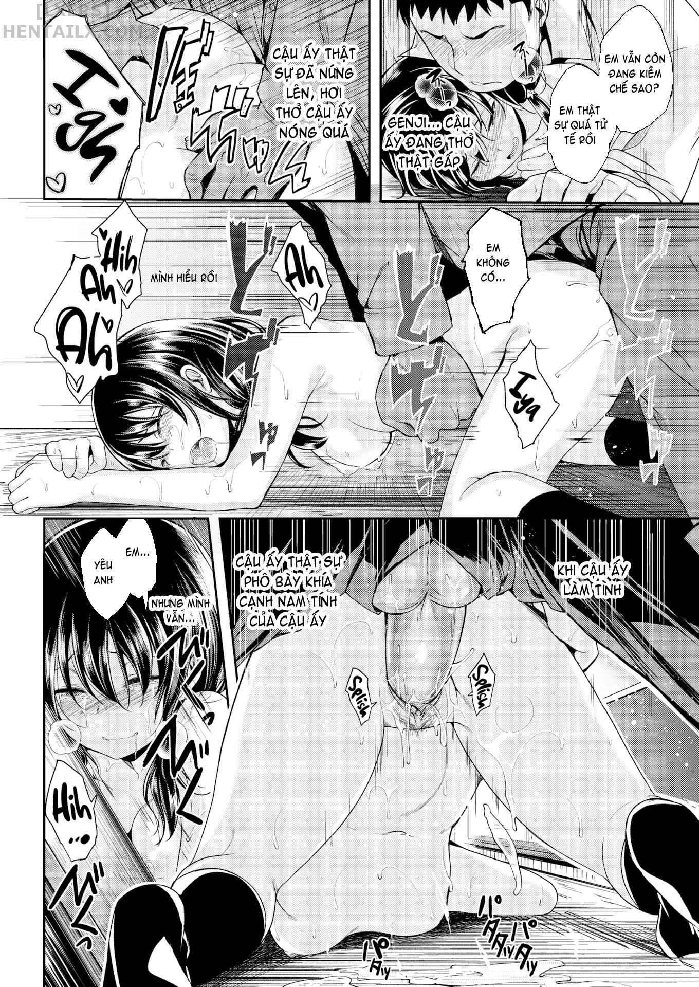 018 First Time  - hentaicube.net - Truyện tranh hentai online