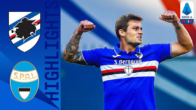 Video Sampdoria 3-0 Spal: Vòng 30, VĐQG Italia