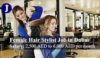 Indian Female Beautician & Hair Dresser Job Recruitment for a Ladies Saloon in Dubai (UAE)