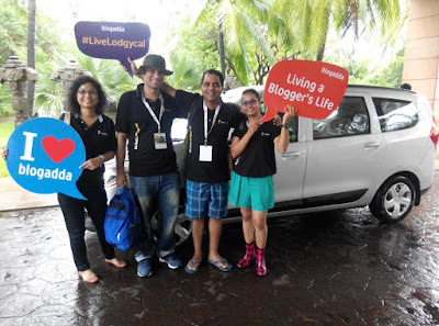 Renault Live Lodgycal Drive, Goa, Murtaza Ali, Film Critic, BlogAdda, Team Cartoosh