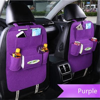 Car Seat Organizer Murah - Tas Mobil Multifungsi