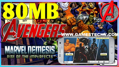 {filename}-Marvel Nemesis - Rise Of The Imperfects (usa) Iso Ppsspp In 80mb