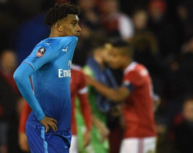 Arsenal crash out of FA Cup after suffering humiliation in the hands of lower league opposition, Nottingham Forest