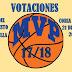 ABIERTAS LAS VOTACIONES PARA LA ELECCIÓN DE LOS MVP 2018