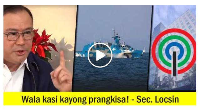 Walang Franchise kaya Hinabol ng Chinese Attack Boat? ABS-CBN, Pinompyang ni Sec. Locsin!