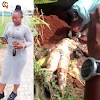 BODY OF 35 YEARS OLD MISSING WOMAN  FOUND AFTER SHE WAS MURDERED AND BURIED SECRETLY BY HER SECURITY GUARD,(VIDEO).