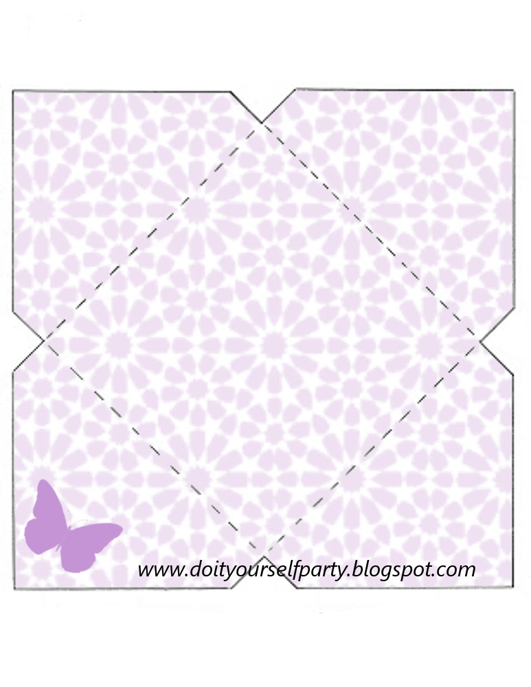Top DIY Party: WEDDING: buste per partecipazioni con farfalle lilla GP68