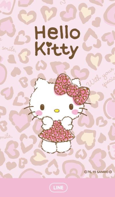 Hello Kitty เสือดาวสีชมพู