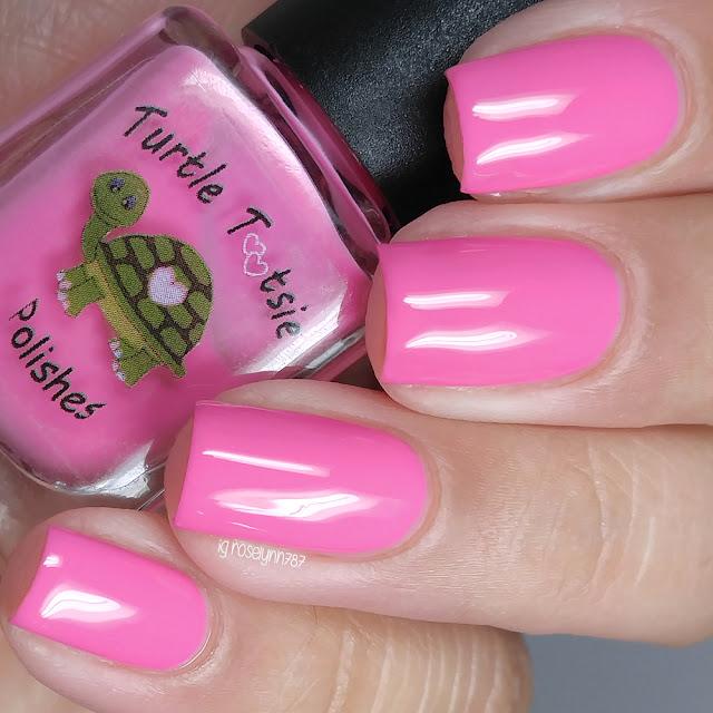 Turtle Tootsie Polishes - Pink Ranger