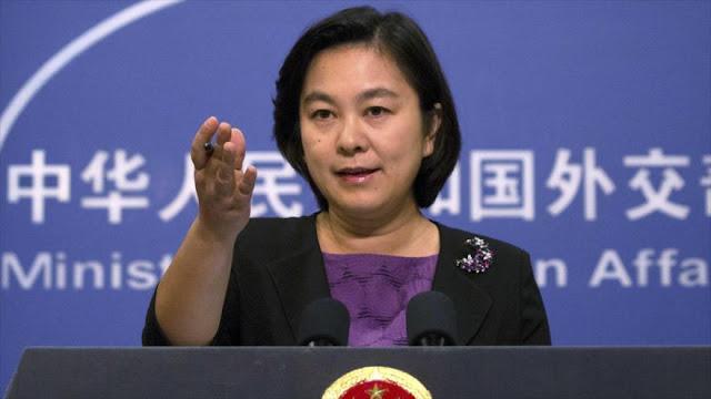 China denuncia postura de EEUU ante epidemia de coronavirus
