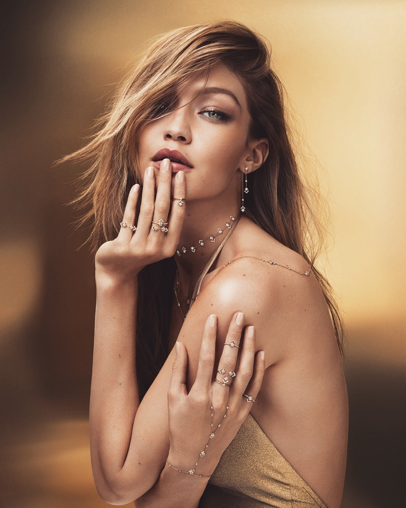 Gigi Hadid stars in Messika 'My Soul' Jewelry campaign