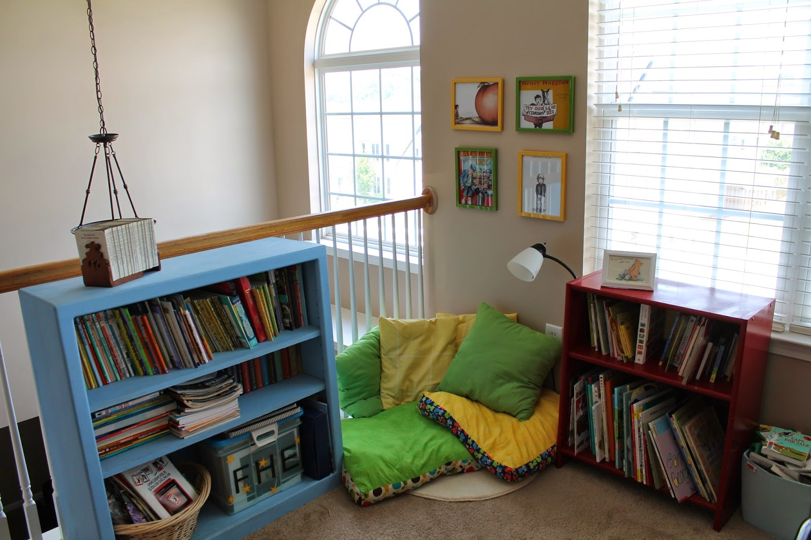 Serving Pink Lemonade Cozy Reading Nook