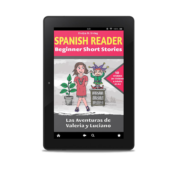 best spanish readers for beginners valeria y luciano