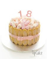 Vaahtokarkki, karkkikakku, synttärikakku, topcake, keksikakku, juhlakakku, täytekakku, birthday cake,