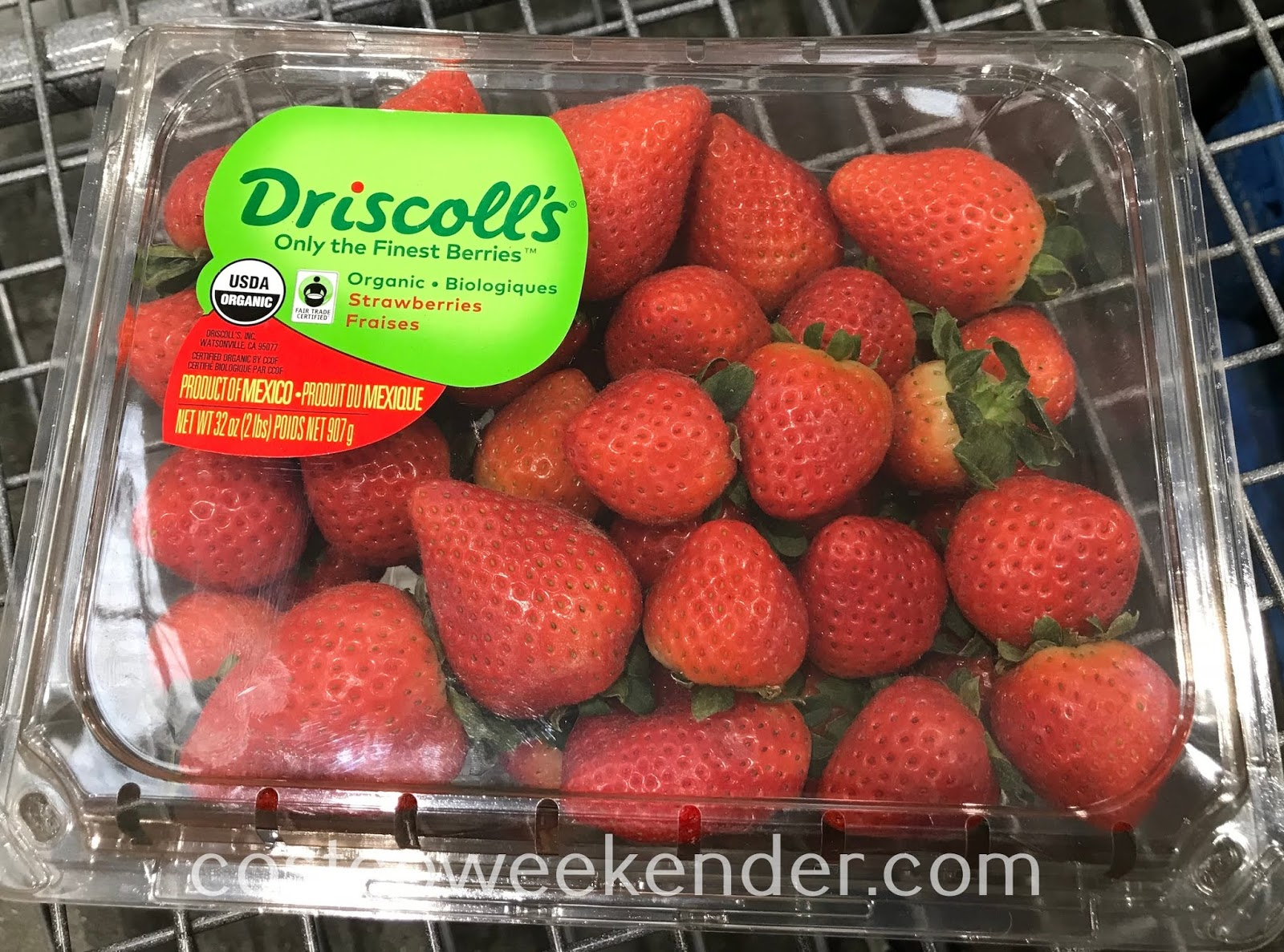 Eat a healthy snack with Driscoll's Organic Strawberries