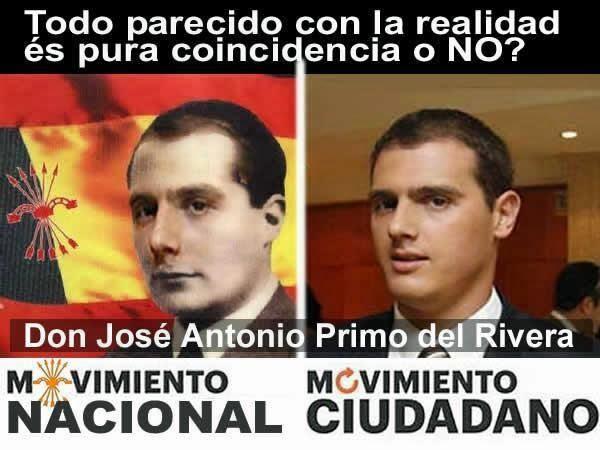 Resultat d'imatges de Albert Rivera jose antonio rivera