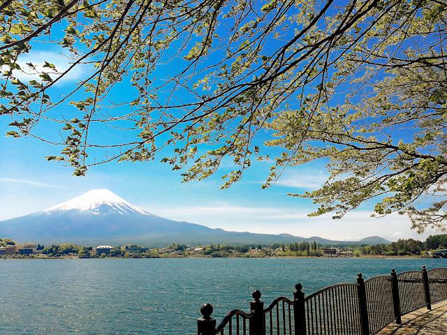 Hồ Kawaguchi, Nhật Bản