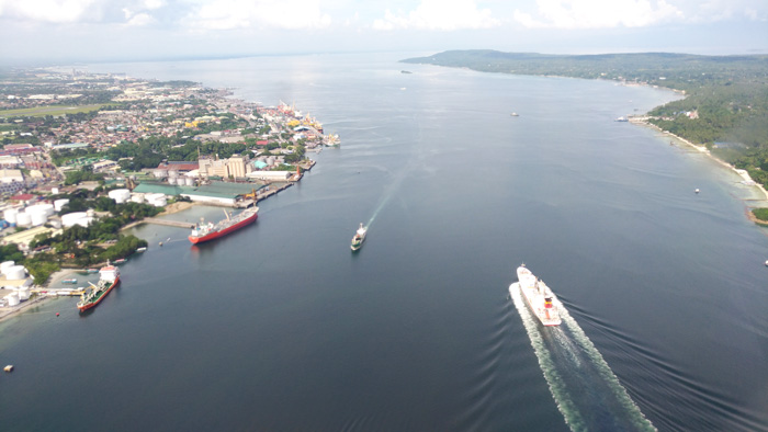 The Samal Strait