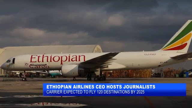 Ethiopian Airlines CEO Hosts Journalists, expected to fly to 120 destinations [Video]