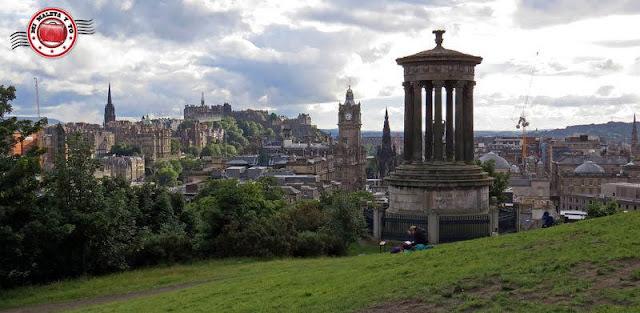 Escocia, Edimburgo, Calton Hill