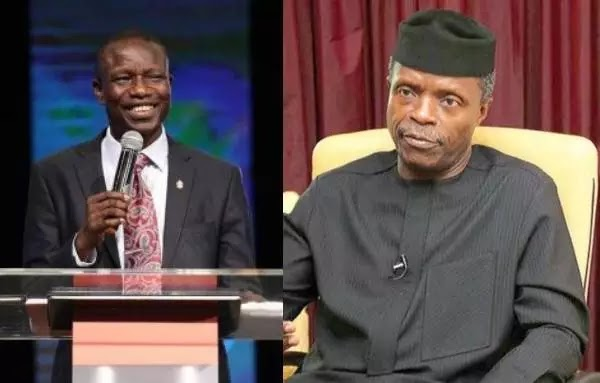 Osinbajo told us some cabals are behind corruption allegations against him – Bishop Wale Oke