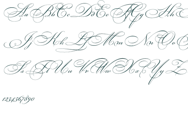 tattoo handwriting alphabet worksheets
