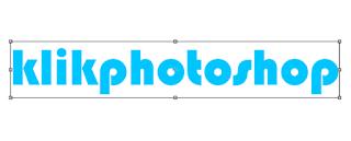 Cara membuat tulisan gell di photoshop