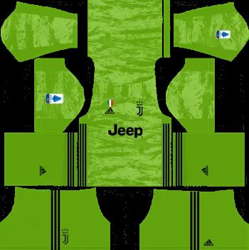 Download Kit DLS Juventus GoalKeeper Away 2019 - 2020