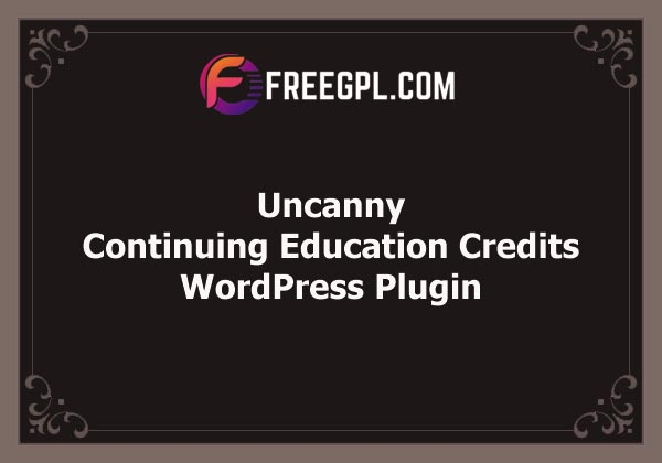 Uncanny Continuing Education Credits Free Download