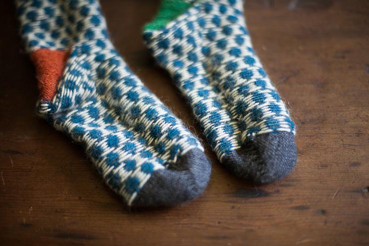 Foxs Lane: spots on socks + other fancy stuff